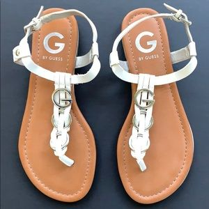 Guess Dahlia Thong Sandals Sz 6